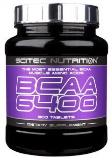 Scitec Nutrition BCAA 6400 (125 таб)