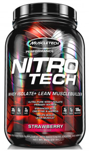 Протеин MuscleTech Nitro-Tech Performance Series (908 г)