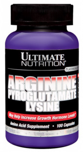 Ultimate Nutrition Arginine-Ornithine-Lisine (100 кап)