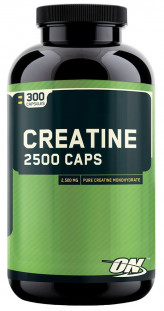 Optimum Nutrition Creatine 2500 mg (300 кап)