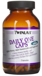 Twinlab Daily One Caps with Iron (90 кап)