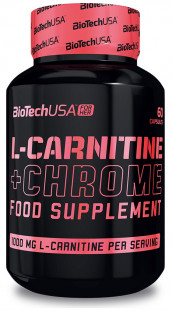 BioTech L- Carnitine + Chrome (60 кап)