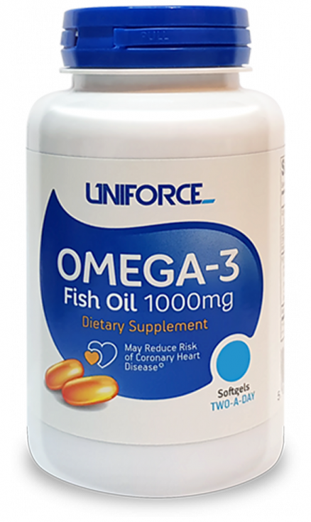 UNIFORCE Omega 3 1000 mg (120 кап)